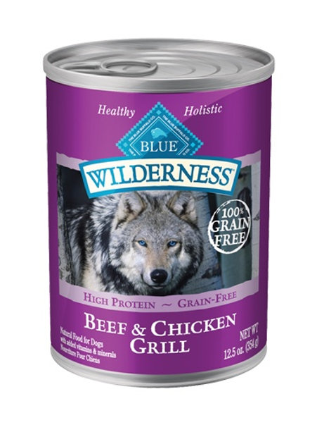 BLUE Buffalo Wilderness Beef & Chicken Grill Wet Food