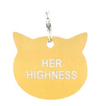 Her Highness Cat Collar Charm