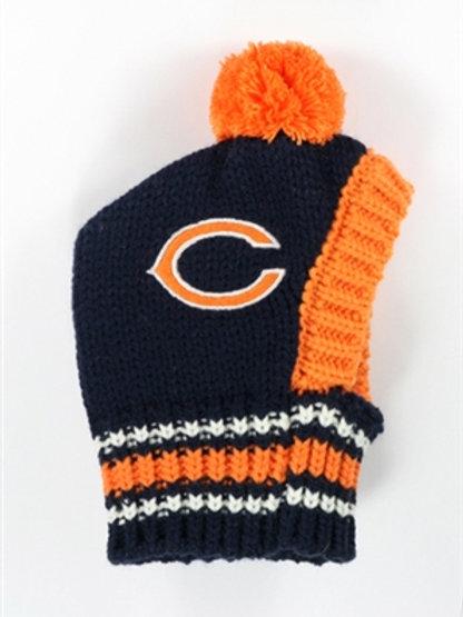 Chicago Bears Knit Pet Hat