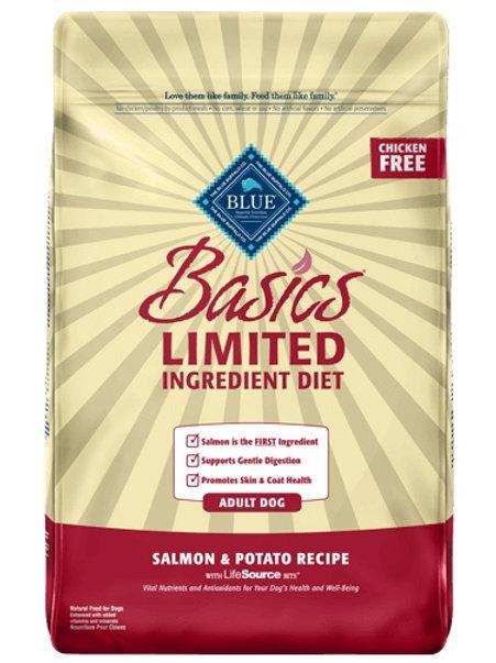 BLUE Buffalo Basics Salmon & Potato 11#