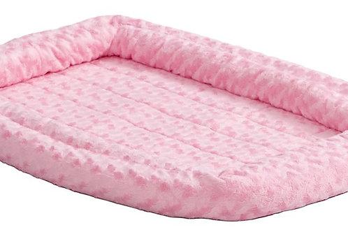 """Quiet Time Pet Bed Pink 30x21"""""""