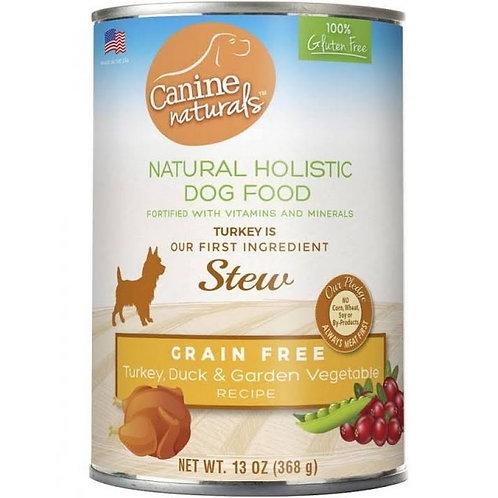 Canine Naturals Turkey, Duck & Vegetable Grain Free Stew 13oz