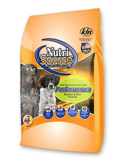 NutriSource Performance Chicken and Rice Formula #40