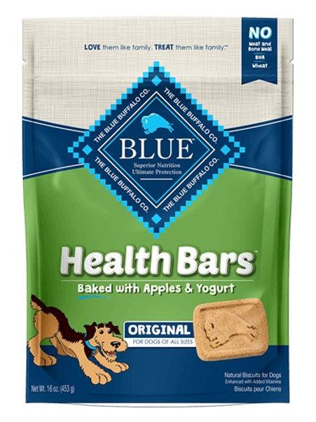 BLUE Buffalo Health Bars Apple & Yogurt