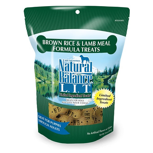 Natural Balance Limited Ingredient Brown Rice and Lamb Meal Treats