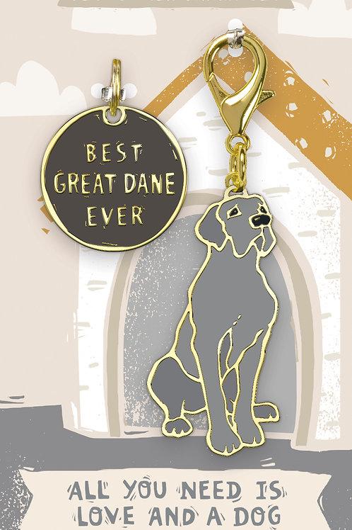 Best Great Dane Ever Charm Set