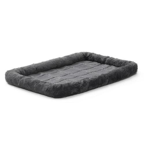 """Quiet Time Pet Bed Grey 24x18"""""""