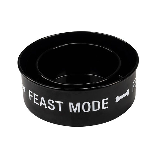 Feast Mode Dog Bowl