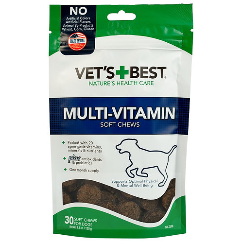 Vet's Best Multi-Vitamin Soft Chews Dog Supplements