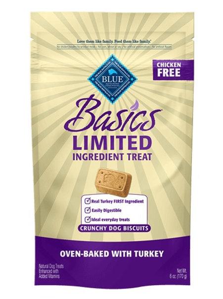 BLUE Buffalo Basics Turkey & Potato Biscuits