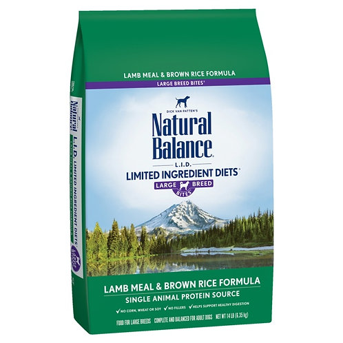 Natural Balance Limited Ingredient Diets® Lamb Meal & Brown Rice Large Breed
