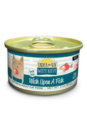 CANIDAE® Under The Sun® Witty Kitty: Wish Upon A Fish Wet Food with Tuna