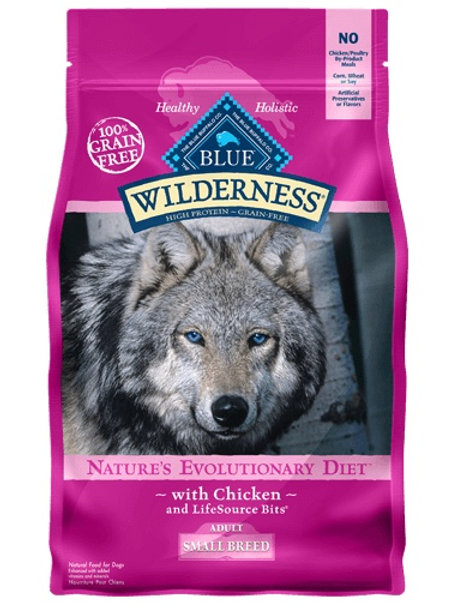 BLUE Buffalo Wilderness Small Breed Adult Diet Chicken 4.5#