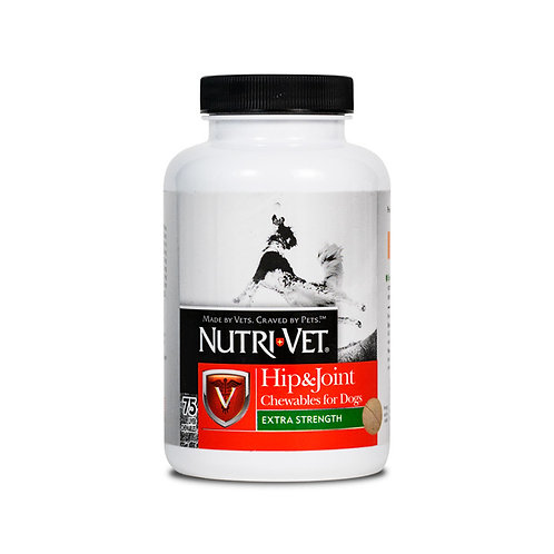 Nutri-Vet Hip & Joint Extra Strength Chewable Tablets