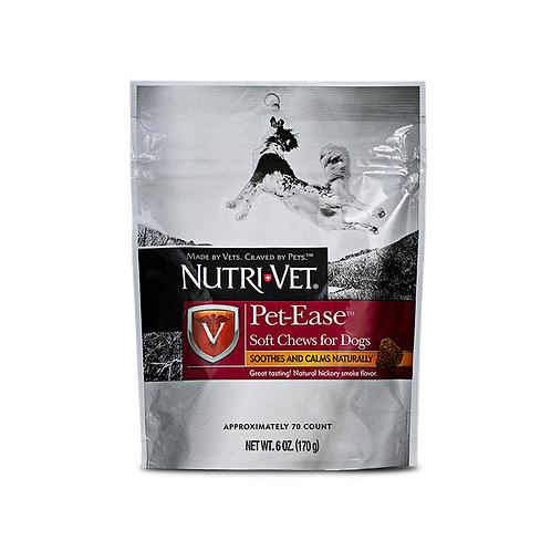 NutriVet Pet-Ease™ anxiety supplements Chews 70 Count