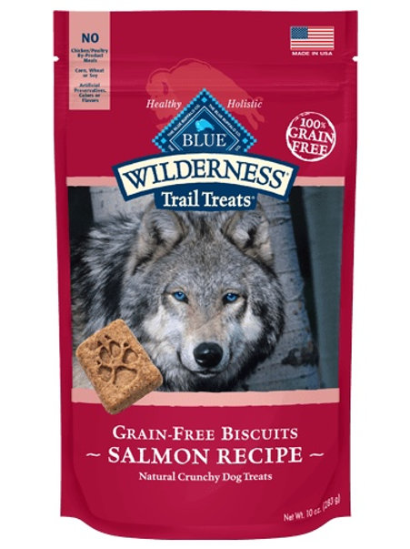 BLUE Buffalo Wilderness Trail Treats Salmon