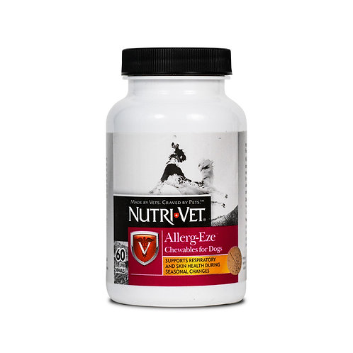 NutriVet Allerg-Eze Chewable Tablets 60 Count