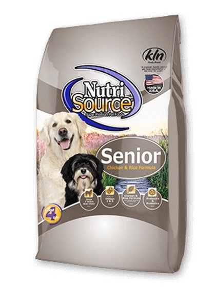 NutriSource Senior Chicken and Rice Dry Dog Food #30