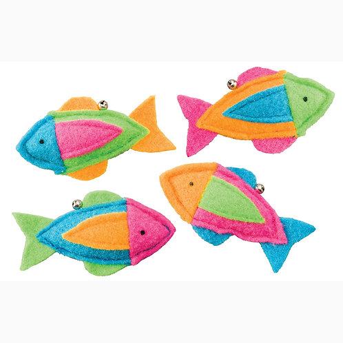 Whiskins Felt Fish Catnip Toy