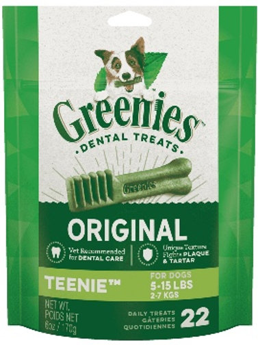 GREENIES™ Original TEENIE™ Dog Dental Treats