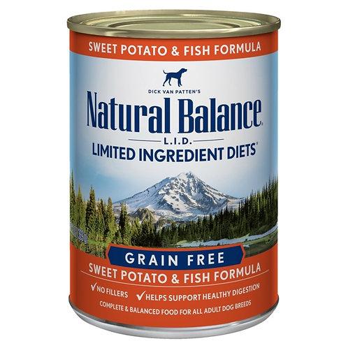 Natural Balance L.I.D. Sweet Potato and Fish Wet Food