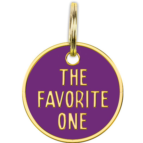 Collar Charm - The Favorite One