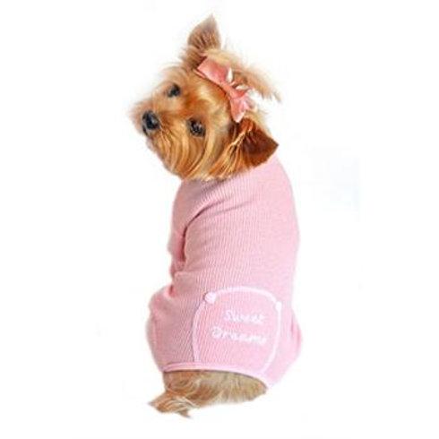 """""""Sweet Dreams"""" Thermal Dog Pajamas"""