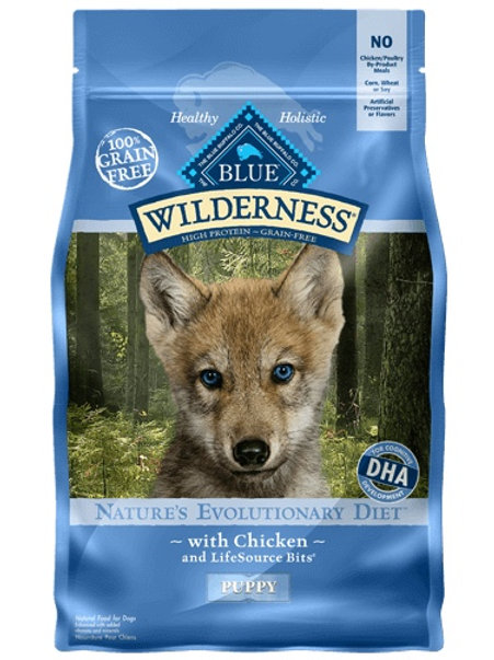 BLUE Buffalo Wilderness Puppy Chicken Diet 4.5#