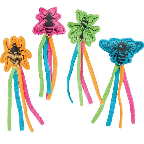 Whiskins Felt Insect Catnip Toy