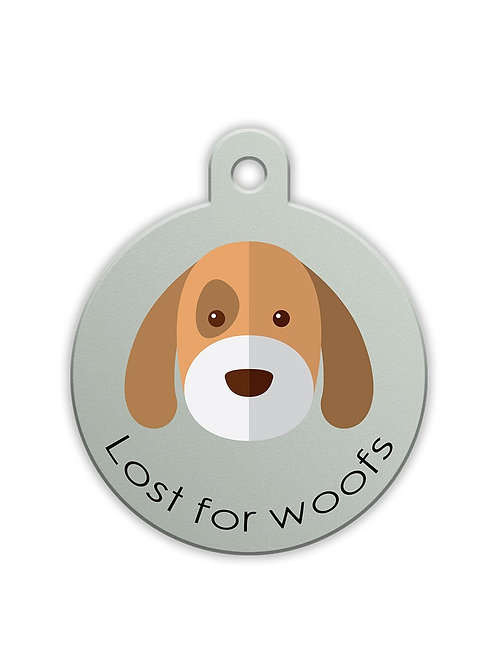 Lost for Woofs Smart Pet Tag