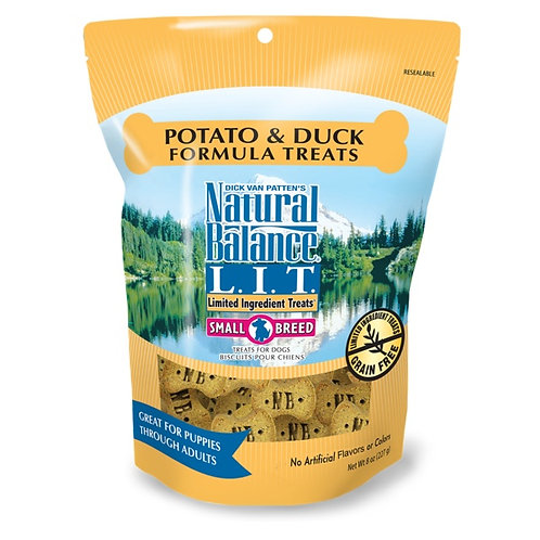 Natural Balance Limited Ingredient Potato and Duck Small Breed Treats