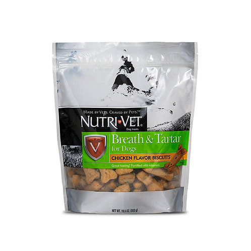 Nutri-Vet Breath & Tartar Biscuits