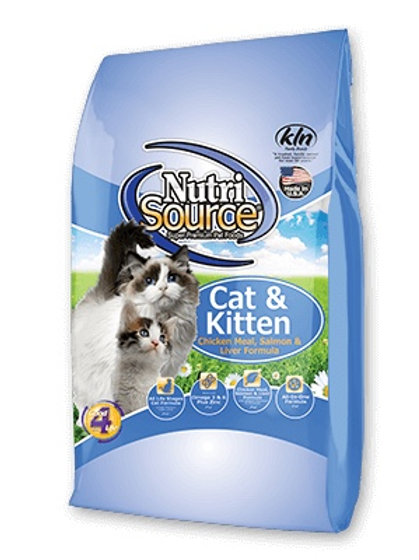 NutriSource Cat and Kitten- Chicken Meal, Salmon and Liver Formula #16