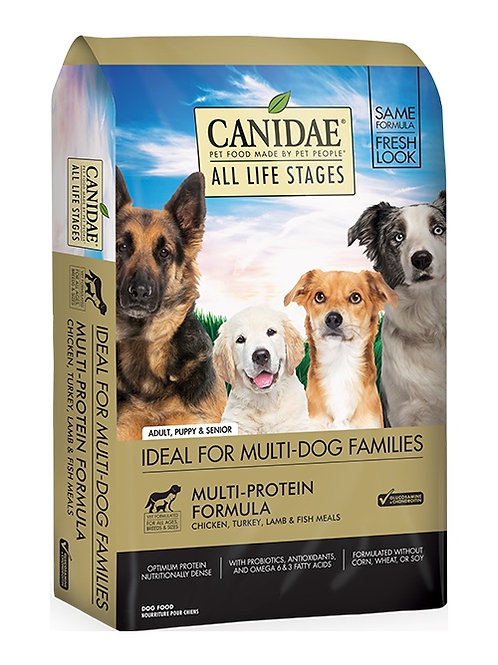 CANIDAE® All Life Stages Dog Dry Food Chicken, Turkey, Lamb & Fish 15#
