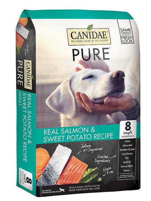 CANIDAE® GRAIN FREE PURE ™ Real Salmon and Sweet Potato 12#