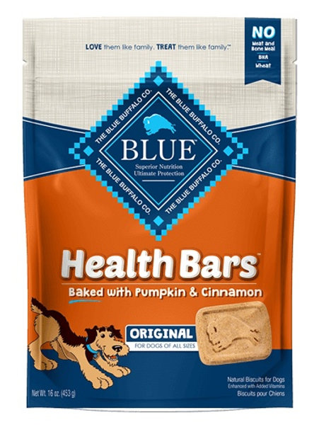 BLUE Buffalo Health Bars Pumpkin & Cinnamon