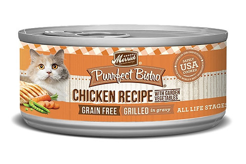 Merrick Purrfect Bistro Grilled Chicken & Vegetables Recipe