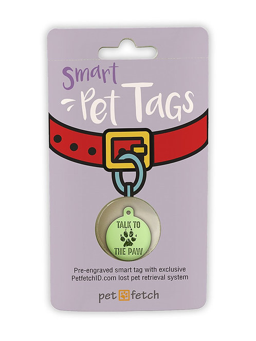 Talk to the Paw Smart Pet Tag