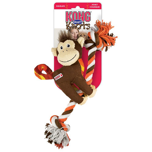 KONG® Clingerz Knots Monkey SM/MD