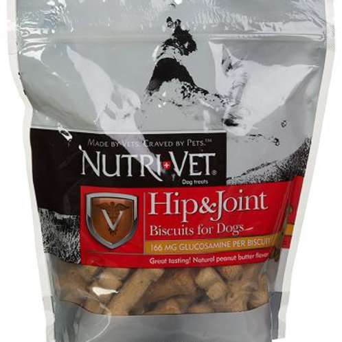 Nutri-Vet Hip & Joint biscuits with glucosamine 19.5oz