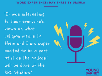 Ursula's Work Experience Day 3: Podcast preparation with Exposure