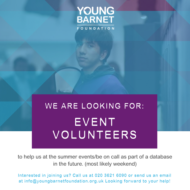 YBF Event Volunteer