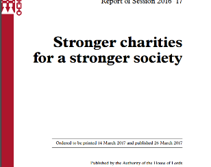 Stronger Charities Stronger Society!