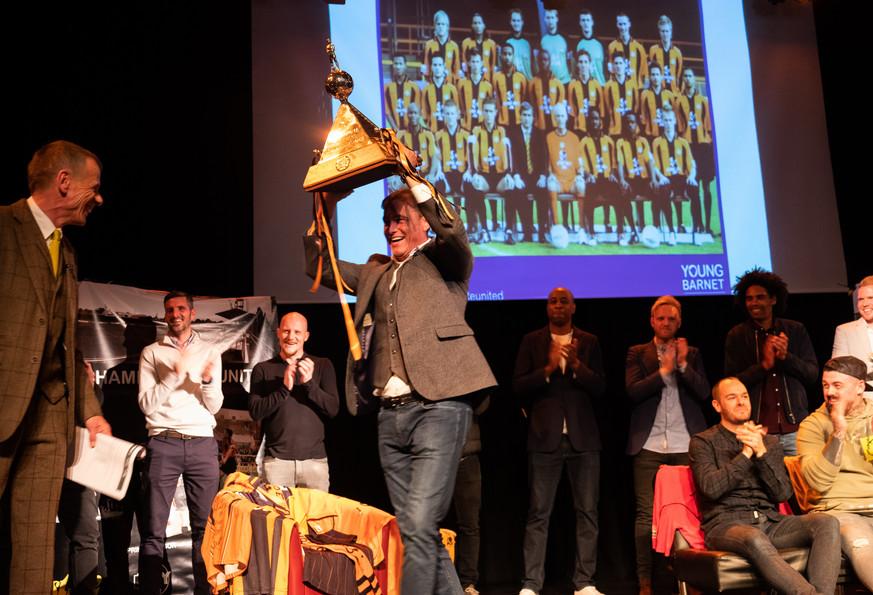 trohpy 3 ChampionsReunited Young Barnet