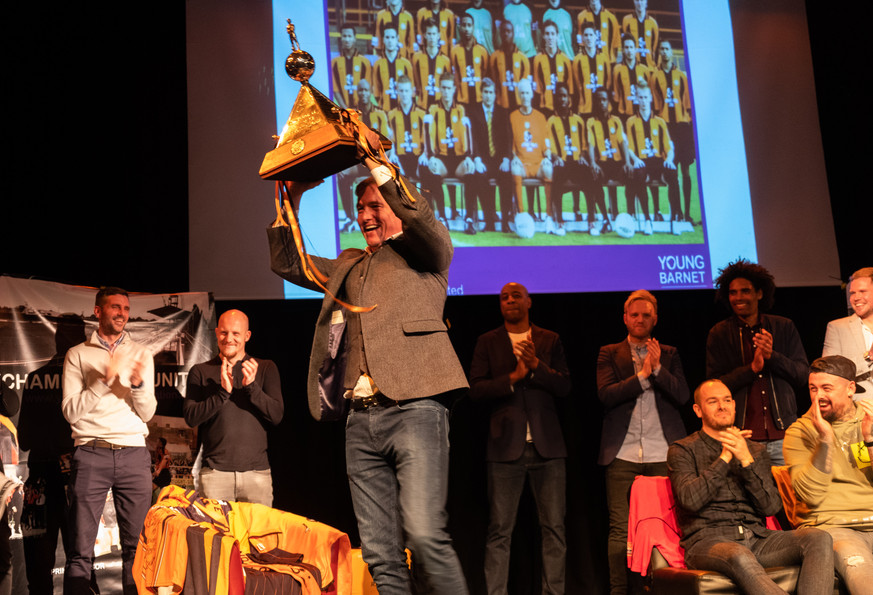 trophy 2 ChampionsReunited Young Barnet