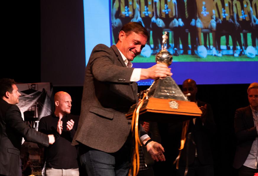Ian Hendon and Trophy ChampionsReunited