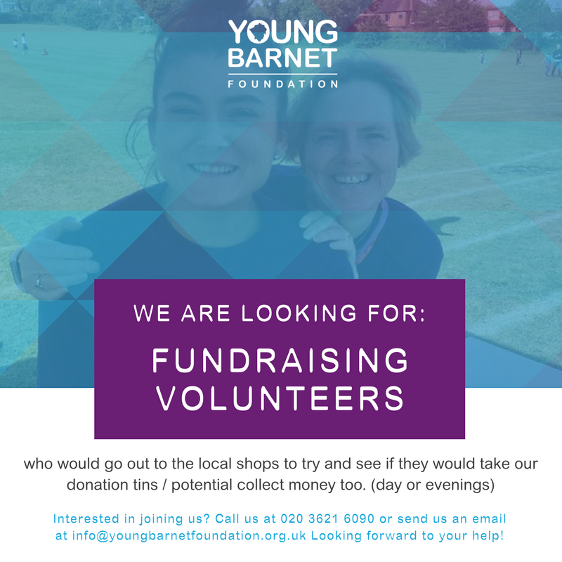 YBF Fundraising Volunteer
