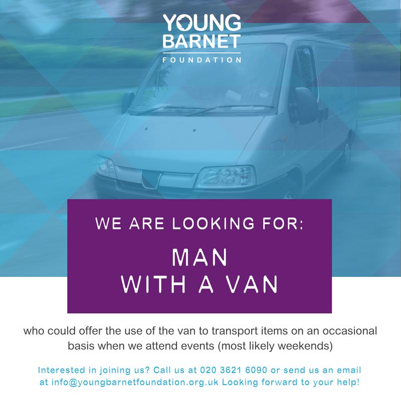 YBF Man with a Van Volunteer