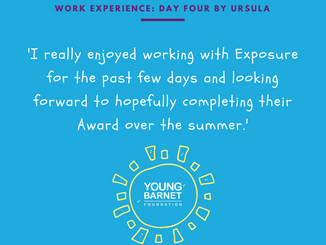 Ursula's Day 4: Working with Exposure and Community Focus at Friary Park