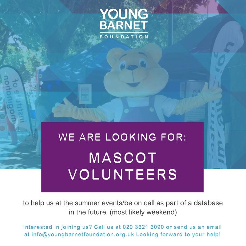 YBF Mascot Volunteer